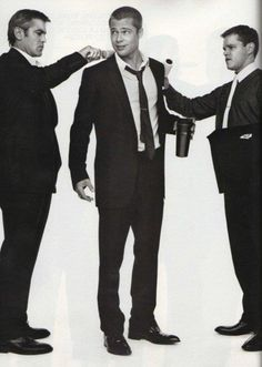 Clooney/Pitt/Damon