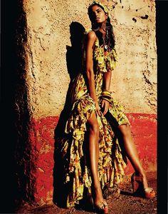 Cuba libre fashion editorial