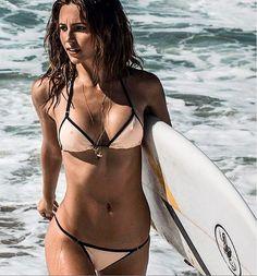 Surf Check on Behance Bikini Sexy, Bikini Girls, Bikini Top, Surf Check, Summer Bikinis, Surf Girls, Triangle Bikini, Model Photos, Sensual