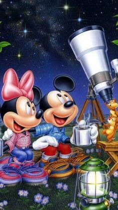 Mickey n Minnie and Chip n Dale