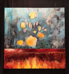 A beautiful piece showcased at the Pebeo booth at NAMTA Conte A Paris, Art Supply Stores, Liquitex, Bob Ross, Art Supplies, Canada, Fine Art, Painting, Beautiful