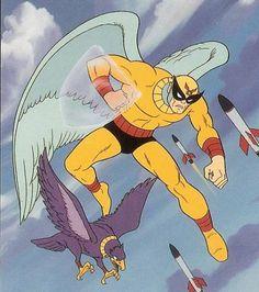 Birdman is arguably my favorite comic book superhero. Comics Und Cartoons, Old School Cartoons, Vintage Cartoons, Classic Cartoons, Favorite Cartoon Character, Comic Character, Cartoon Tv, Cartoon Characters, Cartoon Crazy