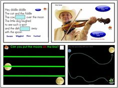 Hey Diddle Diddle  / SMARTboard music lesson and activities
