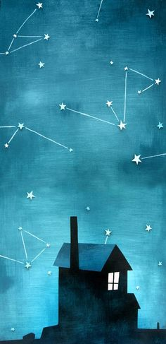 ✯ Stars - Andre Jolicoeur Cover Illustration - wish I could afford his art.