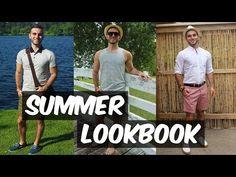 MEN'S FASHION: SUMMER 2015 LOOKBOOK - YouTube
