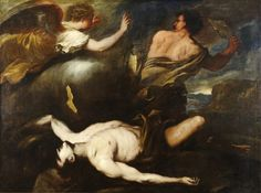 Cain and Abel, Luca Giordano