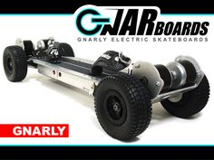 GNARBOARDS - Gnarly Electric Skateboards by Joshua Tulberg, via Kickstarter.