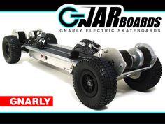 GNARBOARDS - Gnarly Electric Skateboards by Joshua Tulberg, via Kickstarter.