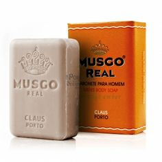 Musgo Real Men's Body Soap - Orange Amber - Claus Porto