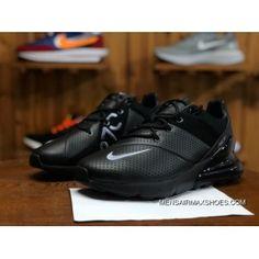 finest selection 6949c 764de NIKE AIR MAX 270 PREMIUM AO8283 010 Mens Running Shoes Black Grey Top Deals