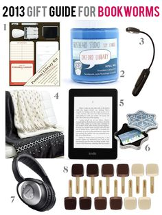 8 Gift Ideas for Bookworms