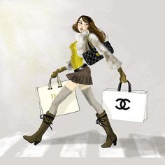 stylisme cecile mancion 16 Cécile Mancion fashion illustrations