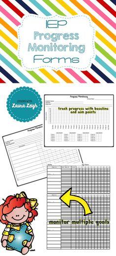 33 Data Collection Sheets Template Rti Iep Progress Monitoring