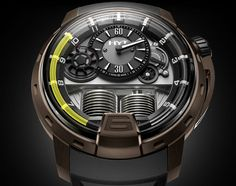 An encounter between Fine Watchmaking and fluid mechanics HYT the H1 TB (PR/Pics http://watchmobile7.com/data/News/2013/06/130613-HYT-H1_TB.html) (1/4) #watches