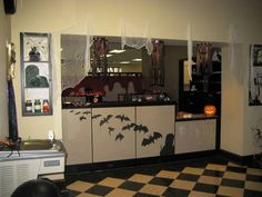 Halloween Office! *UPDATE* on page 2! (img heavy) - OCCASIONS AND HOLIDAYS...This would look great on my kitchen cabinets!! sn