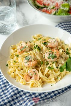 Seafood Recipes, Pasta Recipes, Dinner Recipes, Pesto Pasta, No Cook Meals, Italian Recipes, Food Inspiration, Good Food, Food And Drink