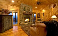 Blue Ridge Vacation Rental - VRBO 333137 - 3 BR Northwest High Country Cabin in GA, Incredible Panoramic Tri-State Mountain & Lake Views from Elegant Ridgetop Cabin