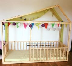 Montessori Bed, Cribs, Toddler Bed, Kids Room, Facebook, Baby, Furniture, Home Decor, Cots