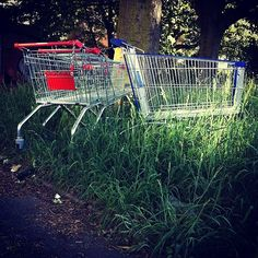 """Abandoned Shopping Trolleys"" by Jens Mayor"