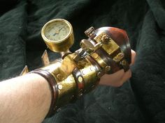 Heart Stopper Steampunk Bracer by Skinz-N-Hydez on deviantART