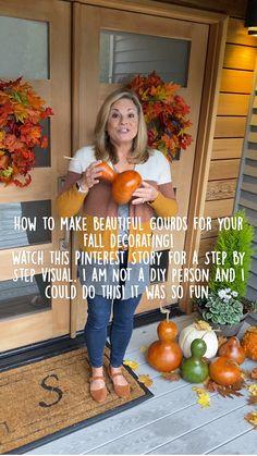 Thanksgiving Decorations, Thanksgiving Ideas, Fall Decorations, Halloween Decorations, Porch Decorating, Decorating Ideas, Fall Projects, Fall Halloween, Halloween Facts