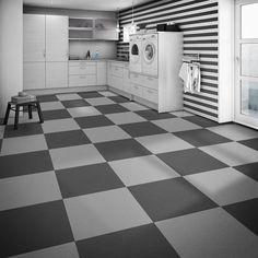 Perfection floor tile installed in closet luxury vinyl tile with a perfection floor tile leather look flexible interlocking tiles with hidden locking tabs easy do solutioingenieria Choice Image