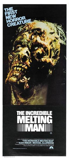 There was, for a short time, a sub-sub-genre of melt movies; usually horror films where people melted. The Incredible Melting Man (1977, USA) was the obvious example, but Wizard of Oz and Future Shock were also examples.