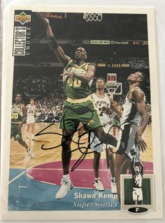 1994-95 Collector's Choice Michael Jordan Blow-up Autograph - Michael Jordan Cards Michael Jordan Autograph, Up Auto, Karl Malone, Upper Deck, Nostalgia, Cards, Map