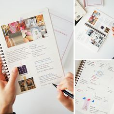 SUN MRN - Korean Stationery - Mon Journal Planner - Pink. Similar to the Faisant un Voyage Daily Planner found here http://www.mochithings.com/schedulers-and-planners/daily-planner/7535