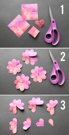 Learn how to make paper roses with these beautiful paper rose template. Step by step instructions included. How to make DIY paper flowers....