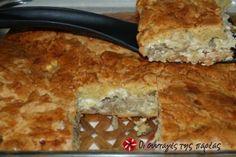Είναι μια εύκολη πίτα, παραλλαγή δική μου από συνταγή της Νίκης Χρυσανθίδου, που ξετρέλανε την οικογένειά μου.