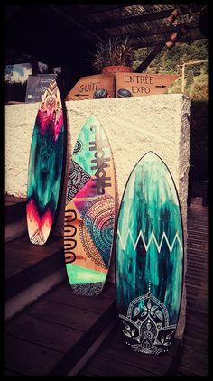 Surf déco @EvaLubartdesign #evalubart #surf #boho #deco #decor