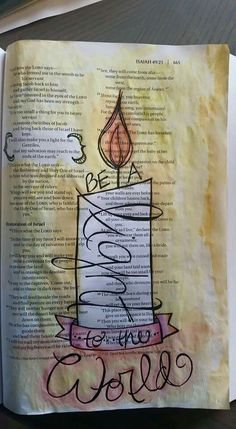 Isaiah 49// found on Bible Art Journaling board of Cindy Byrne