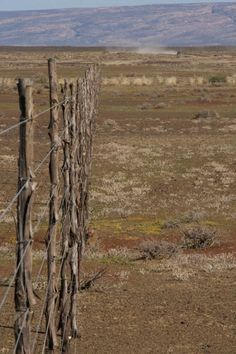 Oh how I love to venture down those 'District' roads . just tosee where they go. This photograph taken by Angela Passetti captures a moment on one of those roads somewhere in the Karroo Farm Gate, Farm Fence, South Afrika, Out Of Africa, My Land, Countries Of The World, Places To Go, Fences, Beautiful Places