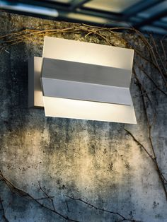 The funky Xena stainless steel outdoor fixture by EGLO.