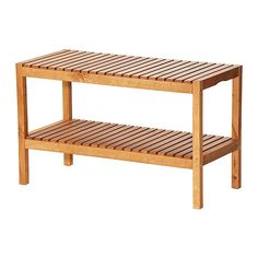 Ikea Molger Bench. For front porch: books, shoes, footrest at the rockers. Paint white or leftover colors other rooms (caribbean blue, pumplin, red, green)    2 on side wall under windows for shoes, 2 near near door, for outdoor stuff, 2 near daybed for games & books.