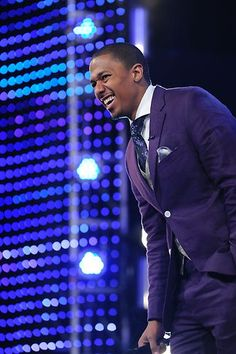 Nick Cannon looking fly in Chicago for #AGT auditions!