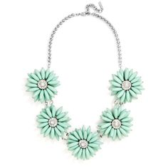 Baublebar 'Poppy' Collar Necklace ($34) ❤ liked on Polyvore featuring jewelry, necklaces, mint, beaded jewelry, statement necklace, bead necklace, mint green jewelry and mint statement necklace