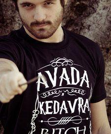 Camiseta Avada Kedavra Bitch Masculina
