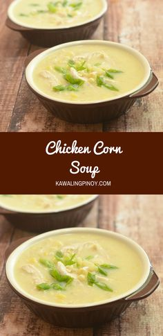 Chicken corn soup is the perfect bowl to keep warm in cold weather. Chock full of chicken, corn, and delicate egg ribbons, it's hearty and delicious!