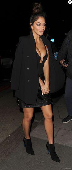 Nicole Scherzinger à Londres. Le 27 novembre 2016.