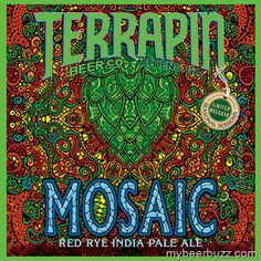 Mosaic Red Rye IPA Joins Terrapin Beer Co.'s Seasonal Sessions Line