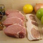 Stuffed Pork Chops w/ Bacon, Apples, & Walnuts! Paleo Crockpot Recipe!