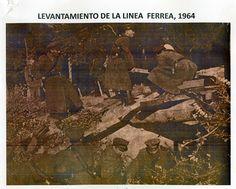 Levantamiento Linea Ferrea 1964