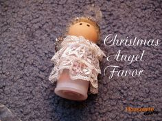 Housewife Eclectic: Christmas Angel Favor