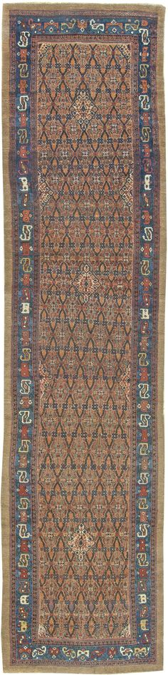 An antique Persian runner for your living room
