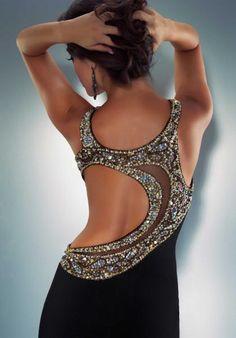 Mac Duggal couture dress black / gold - brilliant design inspiration for dancesport Dresses Elegant, Pretty Dresses, Beautiful Gowns, Beautiful Outfits, Mode Glamour, Designer Prom Dresses, Ballroom Dress, Ballroom Dancing, Dance Dresses