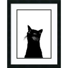 Amanti Art Me Ow by Alex Cherry Framed Painting Print