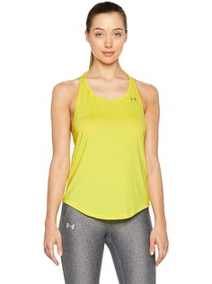 Under Armour Women's HeatGear Armour Mesh Back Tank * Read more  at the image link.  This link participates in Amazon Service LLC Associates Program, a program designed to let participant earn advertising fees by advertising and linking to Amazon.com. Under Armour Tanks, Under Armour Women, Workout Tops For Women, Tank You, Petite Tops, Body Heat, Cool Fabric, Program Design, Peach Colors
