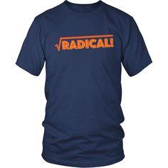 Math - Radical - District Unisex Shirt / Navy / S - 1